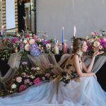 floral arrangement, dress, photo shoot, wedding