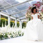 joy, floral, dress, elegant