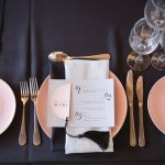 cutlery, plates, glasses, set