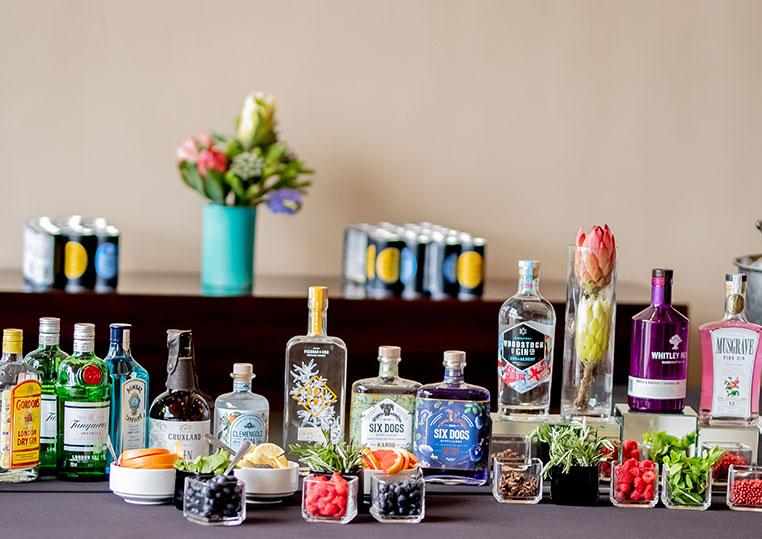 Gin bars