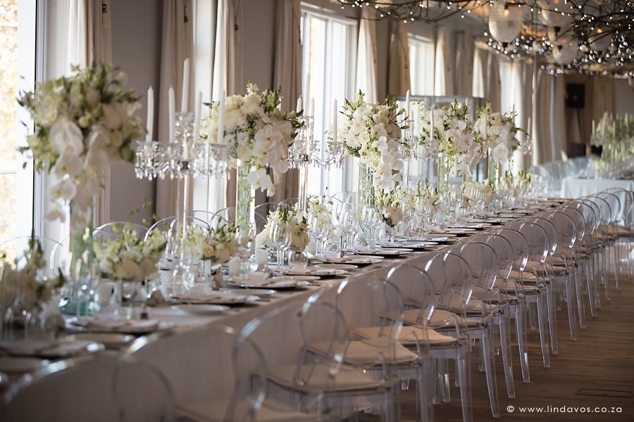 Unveil Elegance Events_ Luxury white weddings_classic white