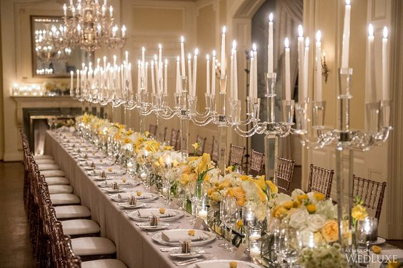 Pantone colour of the year 2021 its grey and yellow, reception tables, flowers and decor