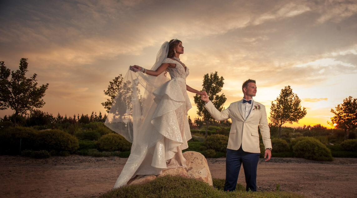 Sunset couple shoot, South Africa, Cavalli Estate