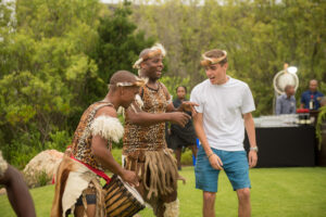Zulu dancers, interactive sessions for wedding